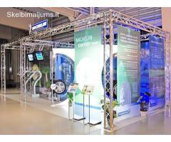 Scenų aliuminio konstrukcinės sistemos parodoms