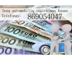 senu automobiliu supirkimas Kaune 869054047