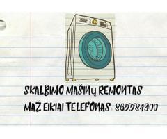 skalbimo masinu remontas Mazeikiai 865584900
