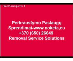 Perkraustymo paslaugos Lietuvoje ir Kaune - www.noketa.eu