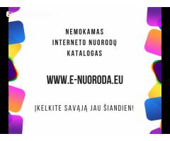 Nemokamų interneto nuorodų katalogas E-nuoroda.eu