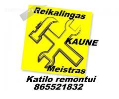 Reikalingas meistras Katilo remontui 865521832