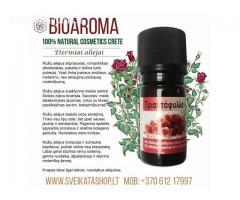 Rožių eterinis aliejukas 5 ml – BioAroma Graikija