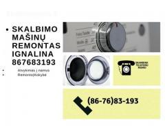 skalbimo masinu remontas Ignalinoje 867683193
