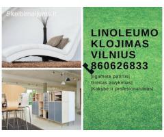 linoleumo klojimas Vilnius 860626833