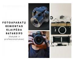 fotoaparatu remontas Klaipeda 867683193