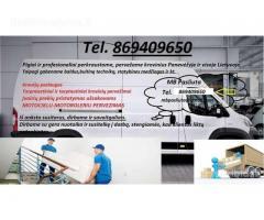 Perkraustymo paslaugos - kroviniu pervezimas