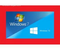 Windows 7, Windows 10 įrašymas Fabijoniškėse, Šeškinėje, Vilniuje.