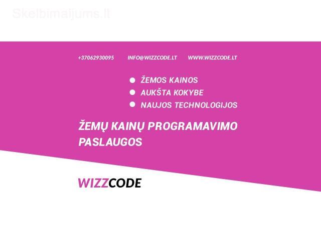 WIZZCODE - žemų kainų programavimo paslaugos