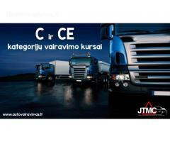 C,CE kategorijų vairavimo kursai Vilniuje