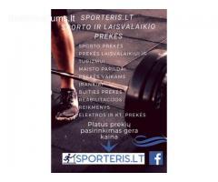 Sporto prekės internetu
