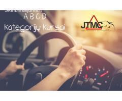 JTMC vairavimo mokyklos Vilniuje