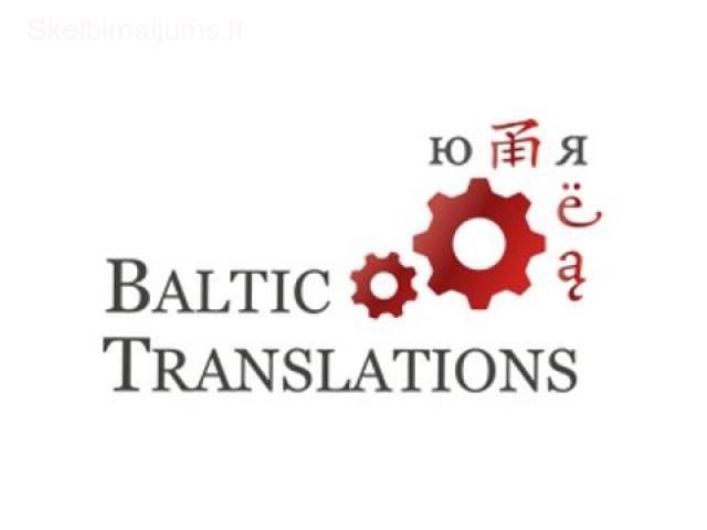 Techniniai ir teisiniai vertimai į 100 kalbų!