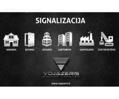 VOJAŽERIS - signalizacija