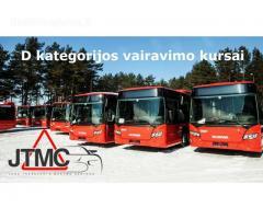 D kategorijos vairavimo kursai Vilniuje