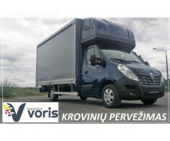 Krovinių Pervežimas Europa - Lietuva - Europa