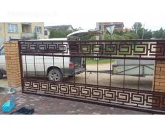 tvoros Vartai  - gamyba montavimas
