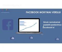 Facebook mokymai verslui