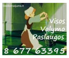 Valymo paslaugos Vilniuje: namu,butu,postatybinis,langu