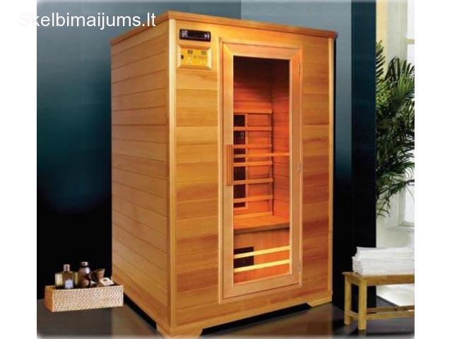 Infraraudonųjų spindulių saunos